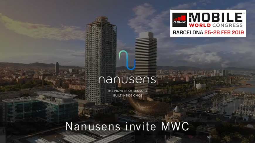 Nanusens invite MWC